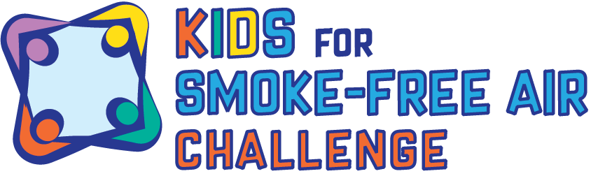 kids for smoke free challenge logo